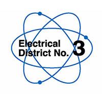 Electrical District No.3 logo